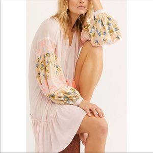 Free People Dresses - Free People Mix It Up Tunic Floral Dress